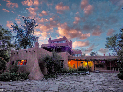 The Mabel Dodge Luhan House - Sunrise