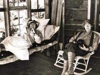 Mabel Dodge Luhan And Dorothy Brett
