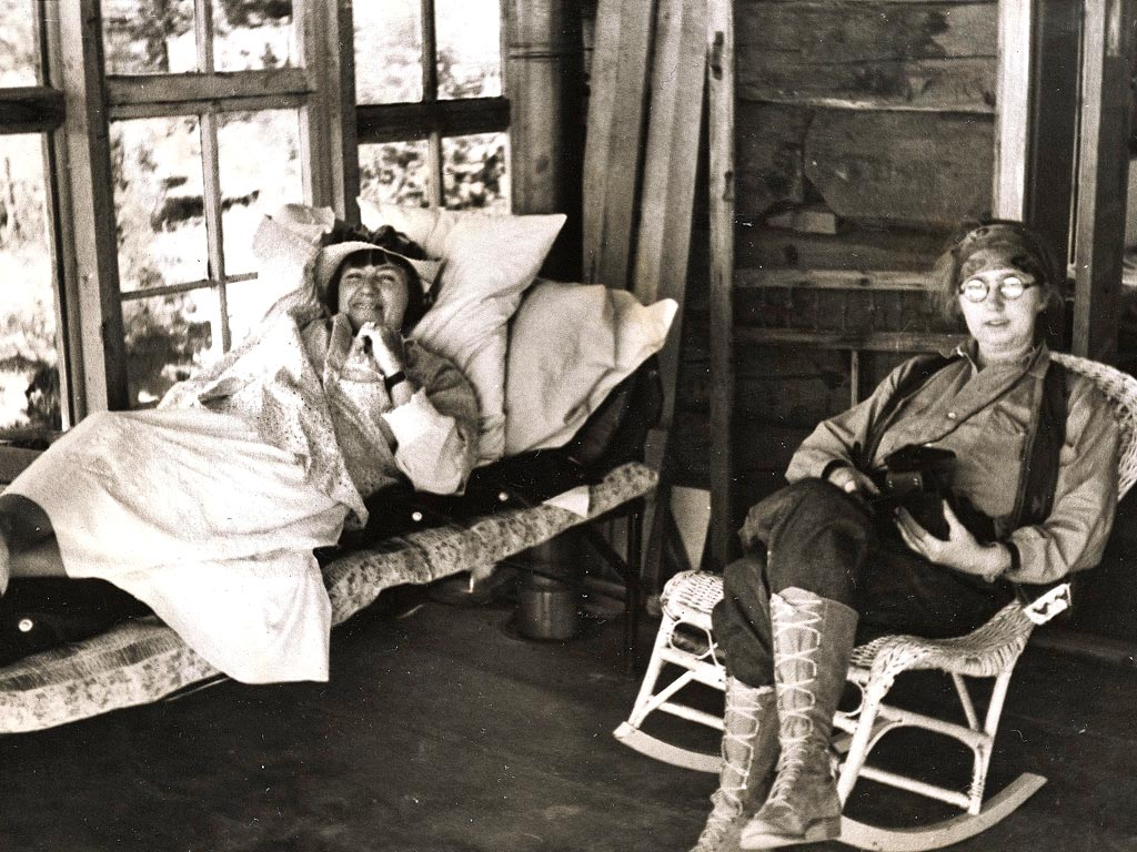Mabel Dodge Luhan And Dorothy Brett