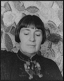 Portrait of Mabel Dodge Luhan. Photo: Carl Van Vechten, 1934. Library of Congress 12735