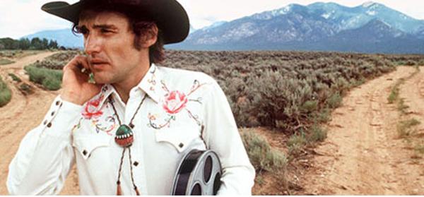dh w cowboy hat - film reel - Taos Mtn in BG - cropped_blog Douglas Kirkland