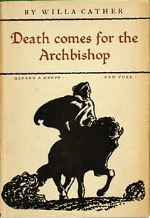 Cover of Death Comes for the Archbishop. New York : A.A. Knopf, 1927