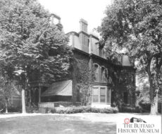 Ganson Home Delaware - North in Buffalo NY - Credit Buffalo Erie Co Historical Society
