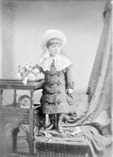 Mabel Ganson age 5 - Mabel Dodge Luhan as child