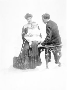 Mabel Ganson Evans: First Marriage, 1900-1904