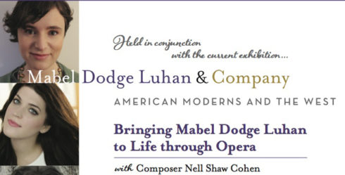 NellShawCohen-opera on Mabel Dodge Luhan 8-12-16