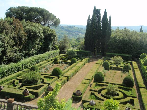 Garden at Villa Curonia 2005 Mabel Dodge